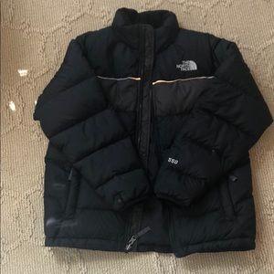 Boys authentic Northface 550 down jacket